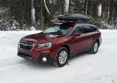 2018 Subaru Outback Premium with Sun Roof